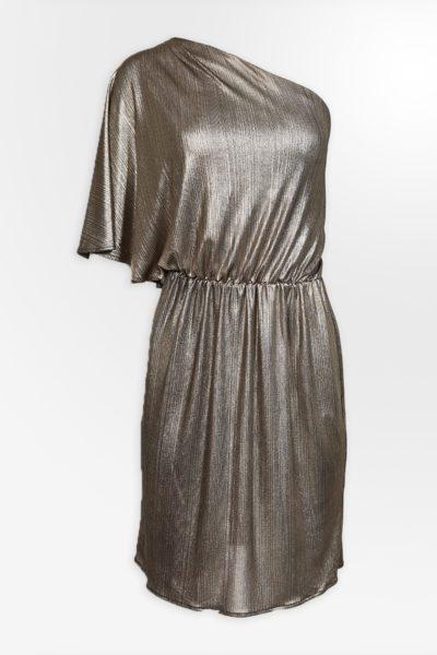 Kurzes Kleid mit einem Ärmel