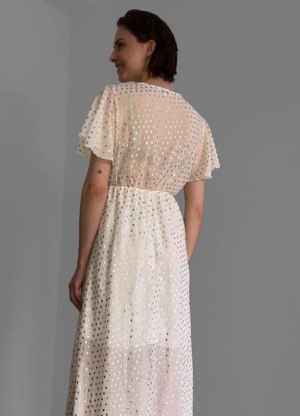 Sommerkleid mit Schlitz