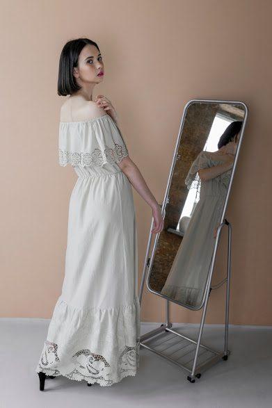 Volant Abendkleid Charmite