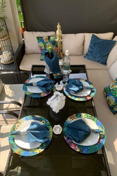 Tischset Palme Charmite Home