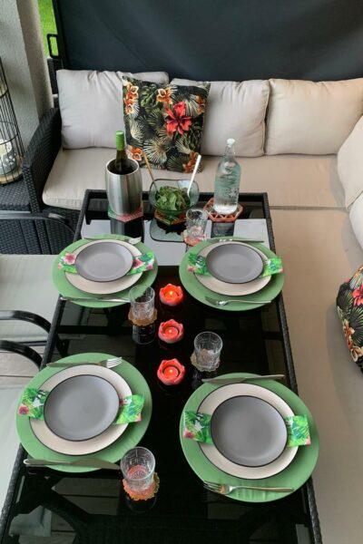 Tischset Natur Charmite Home