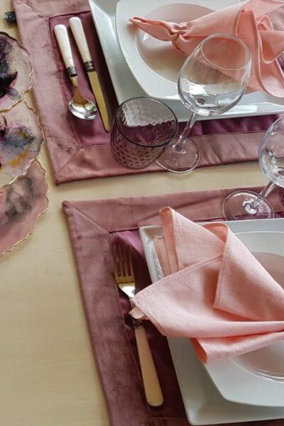 Tischset Rosa Charmite Home